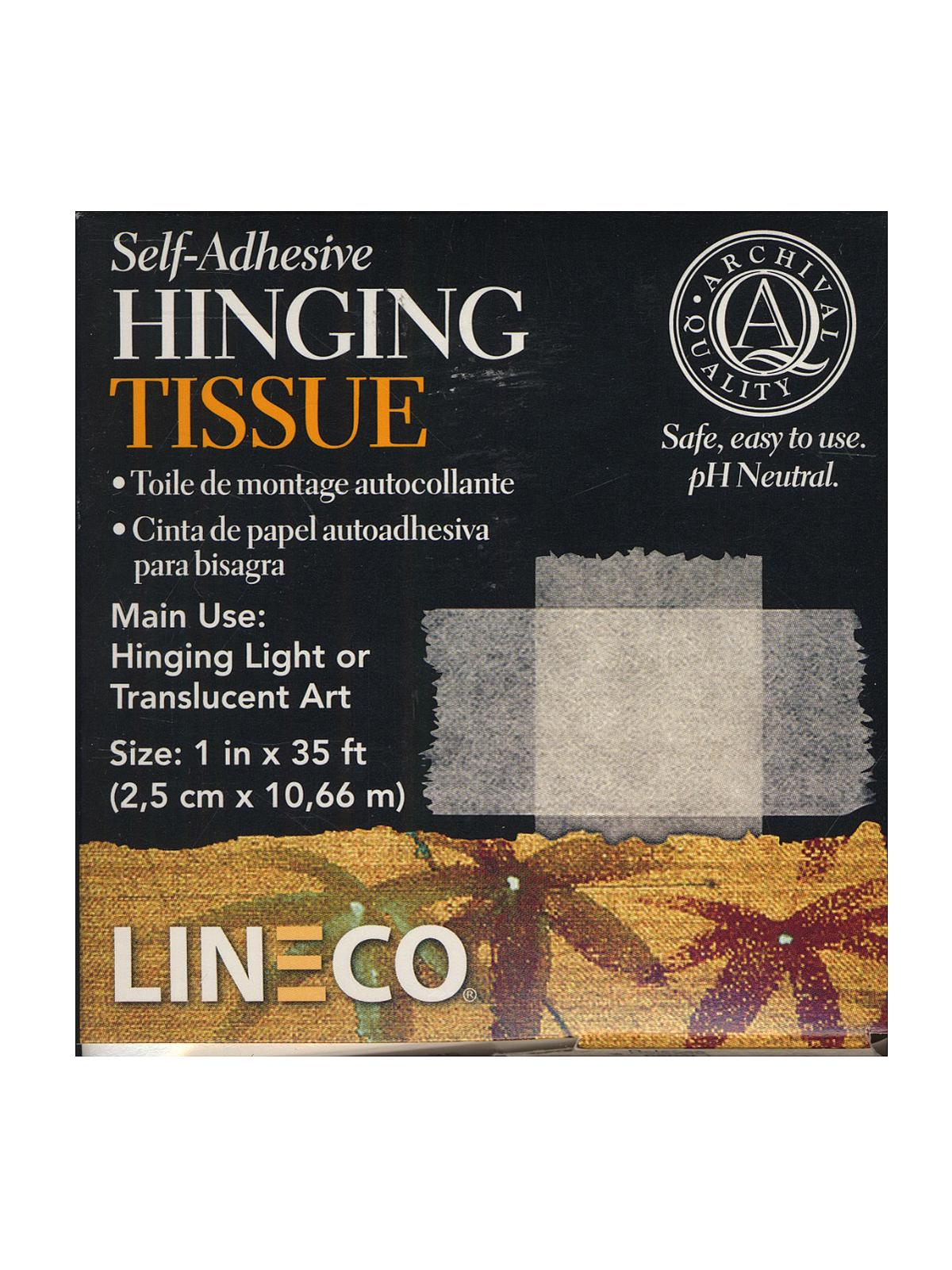 Self-Adhesive Hinging Tissue