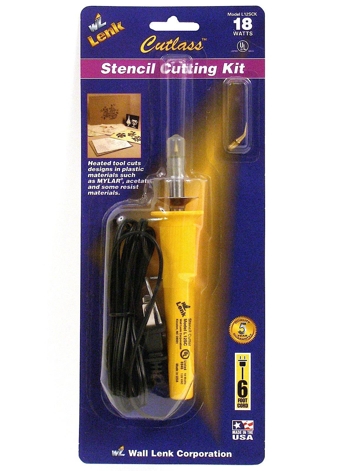 Wall Lenk Corporation Cutlass Stencil Cutting Tools