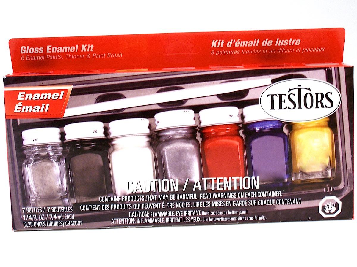 Testors - Gloss Enamel Kit