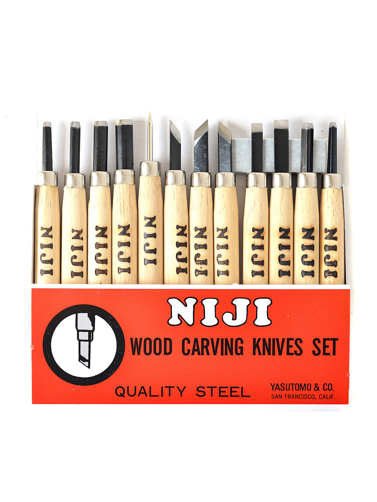 Niji Woodcarving Set