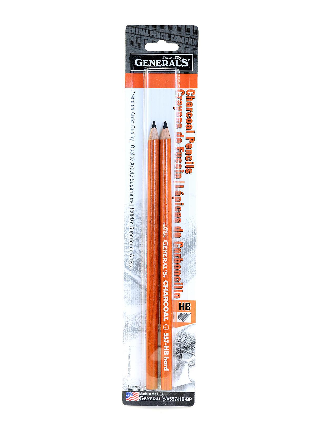 557 Series Charcoal Pencils