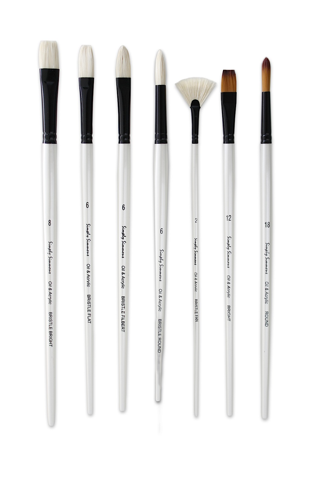 Simply Simmons Long Handle Brushes