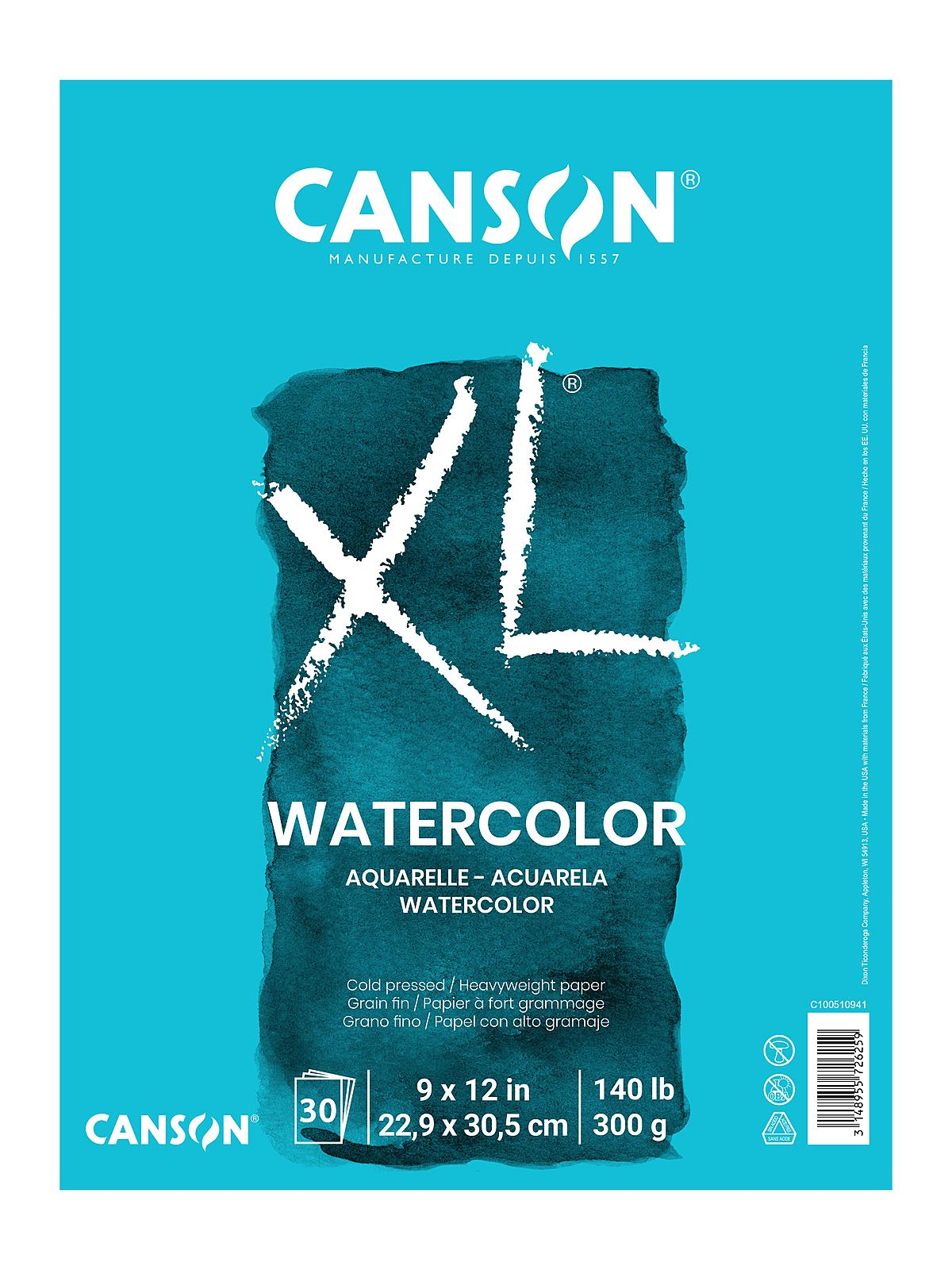 XL Watercolor Pads