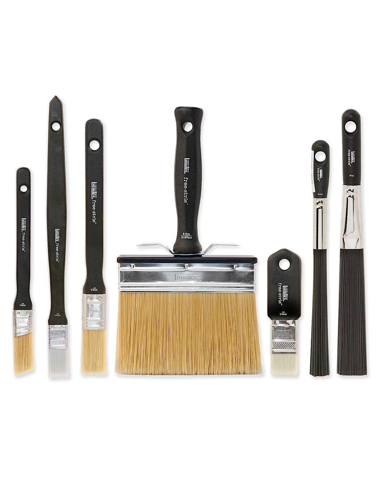 Free-Style Large Scale Brushes