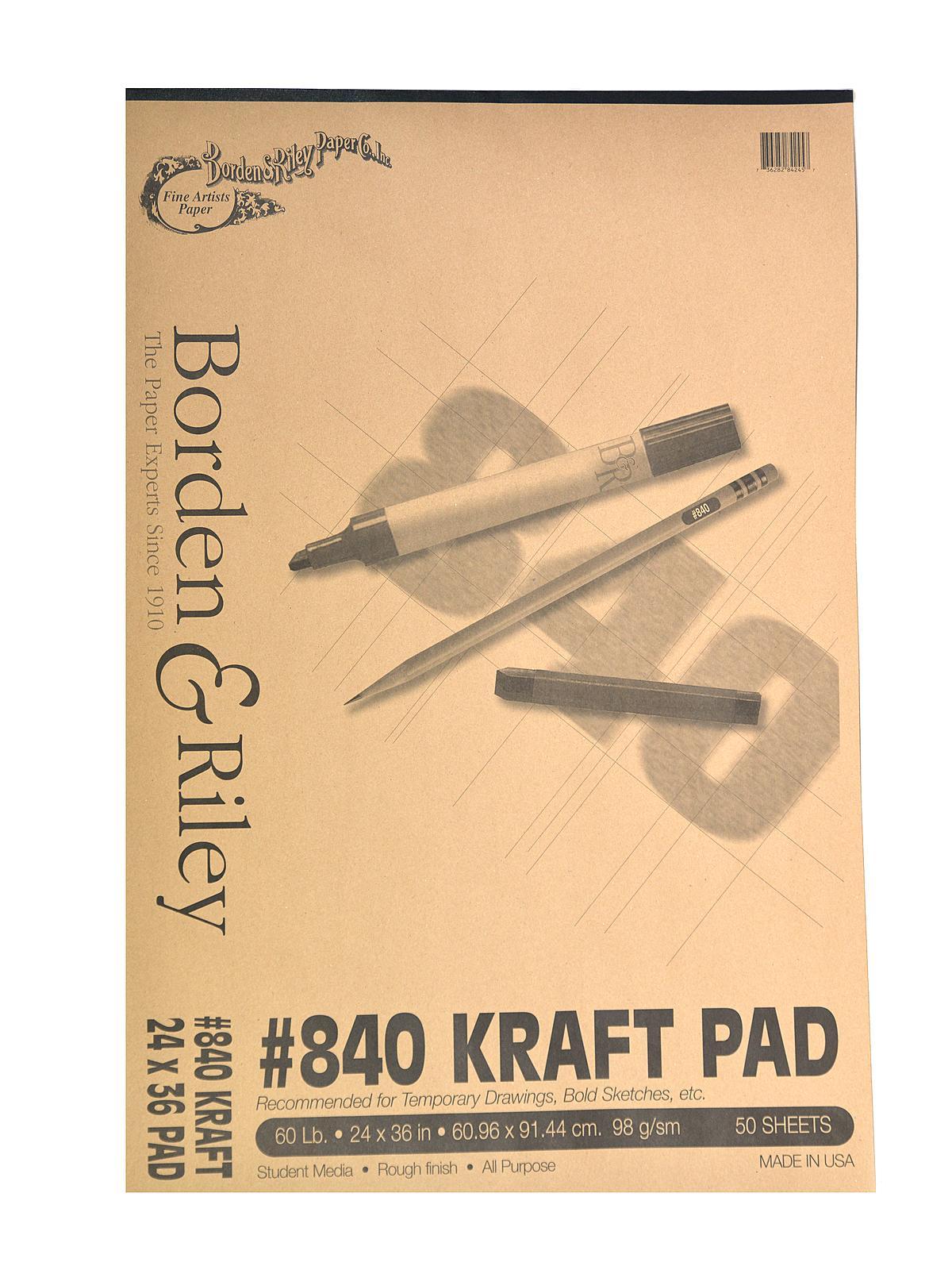 #840 60 lb Kraft Paper