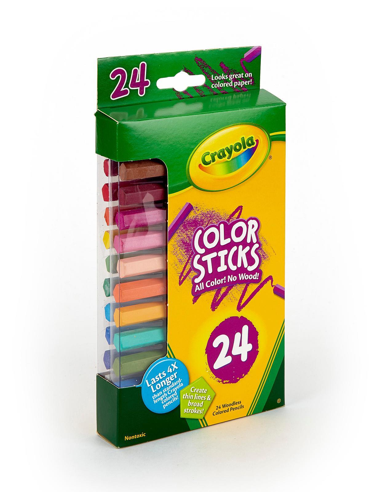 Colored Pencil Color Sticks