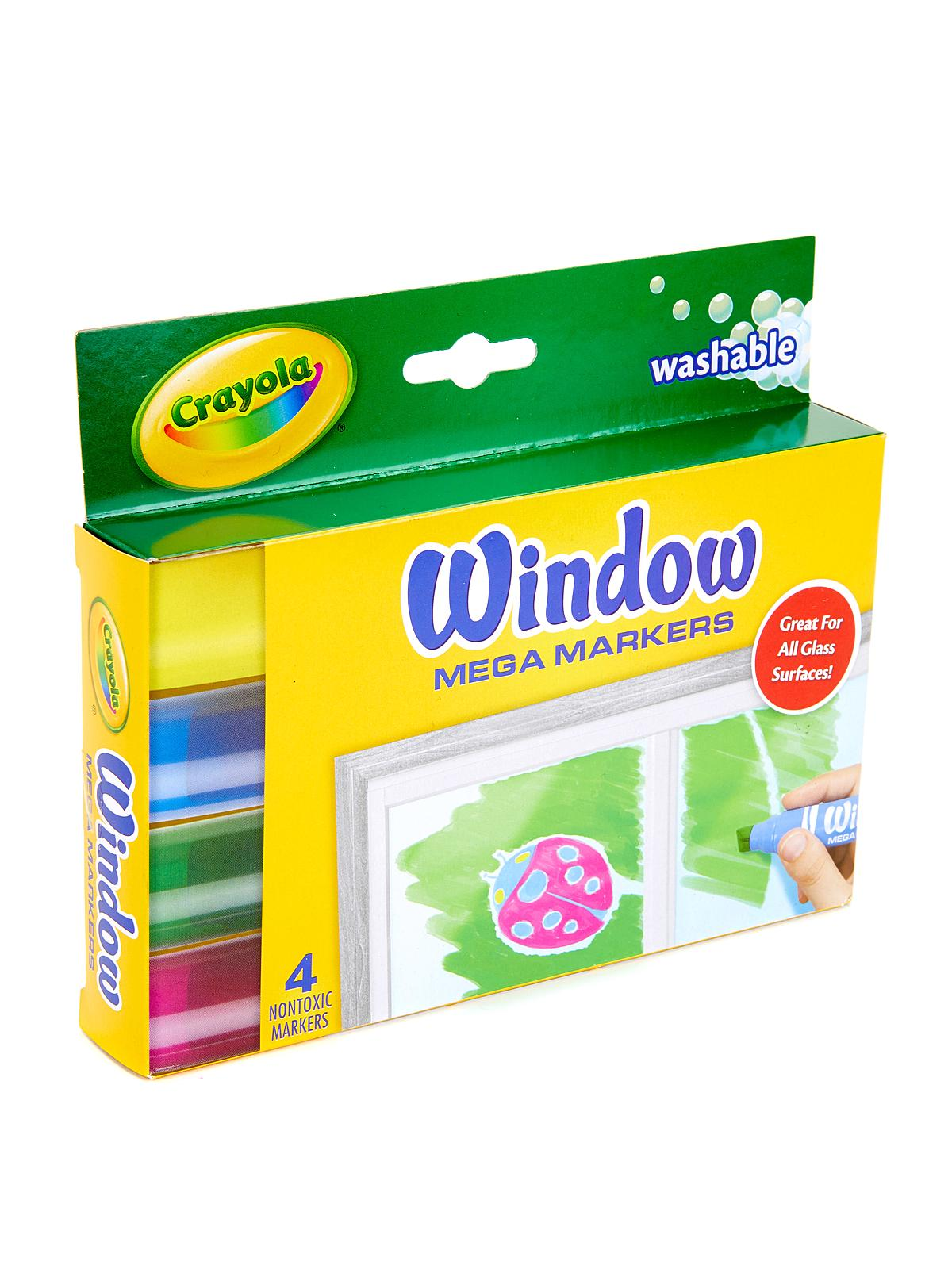 Window Mega Markers