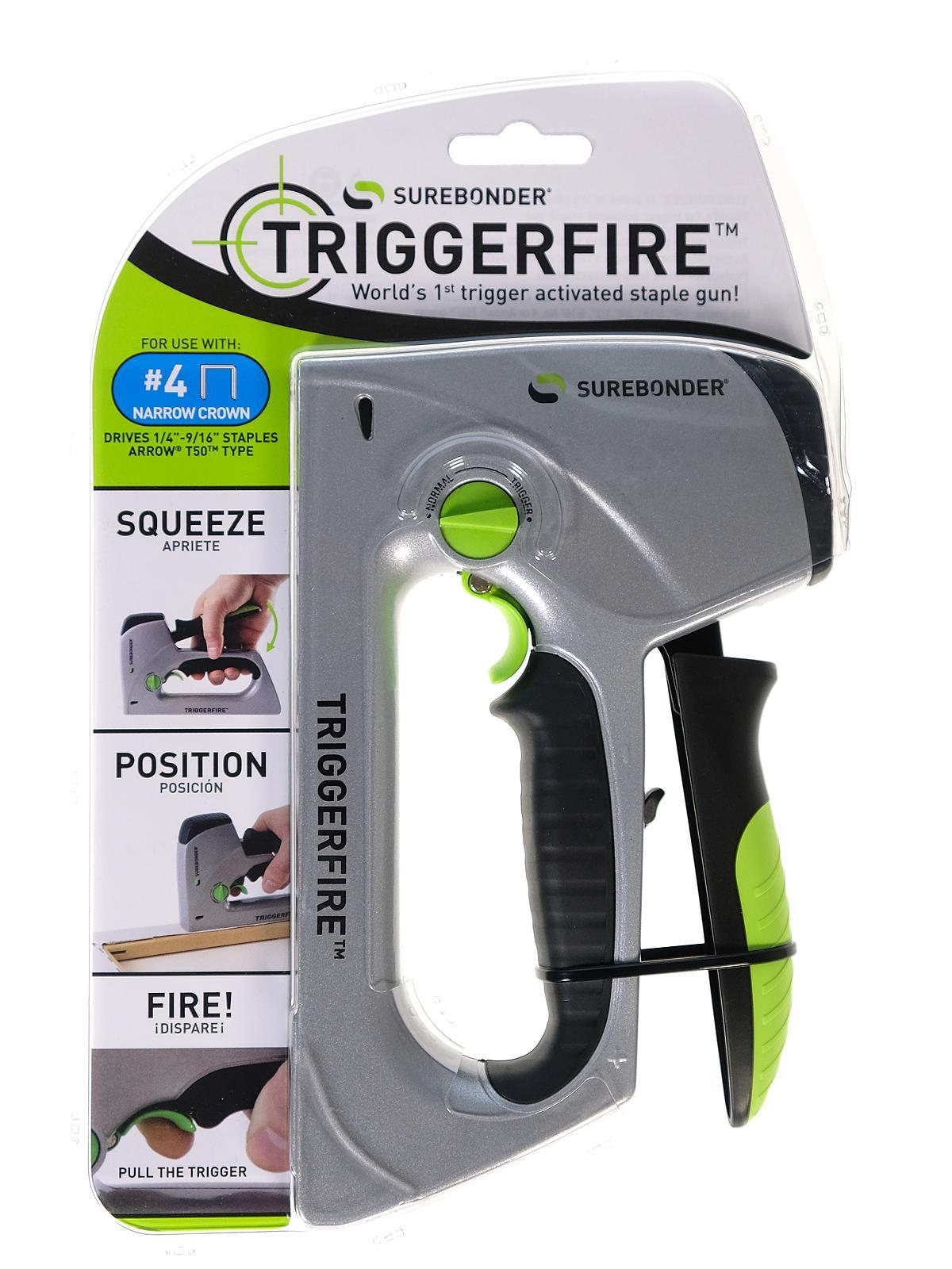 Trigger Fire Heavy Duty Staple Gun