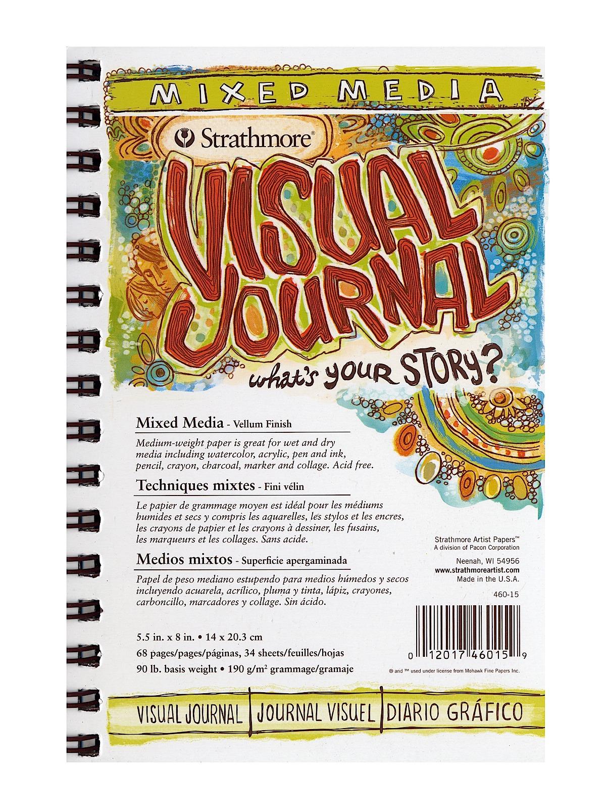Visual Mixed Media Journals
