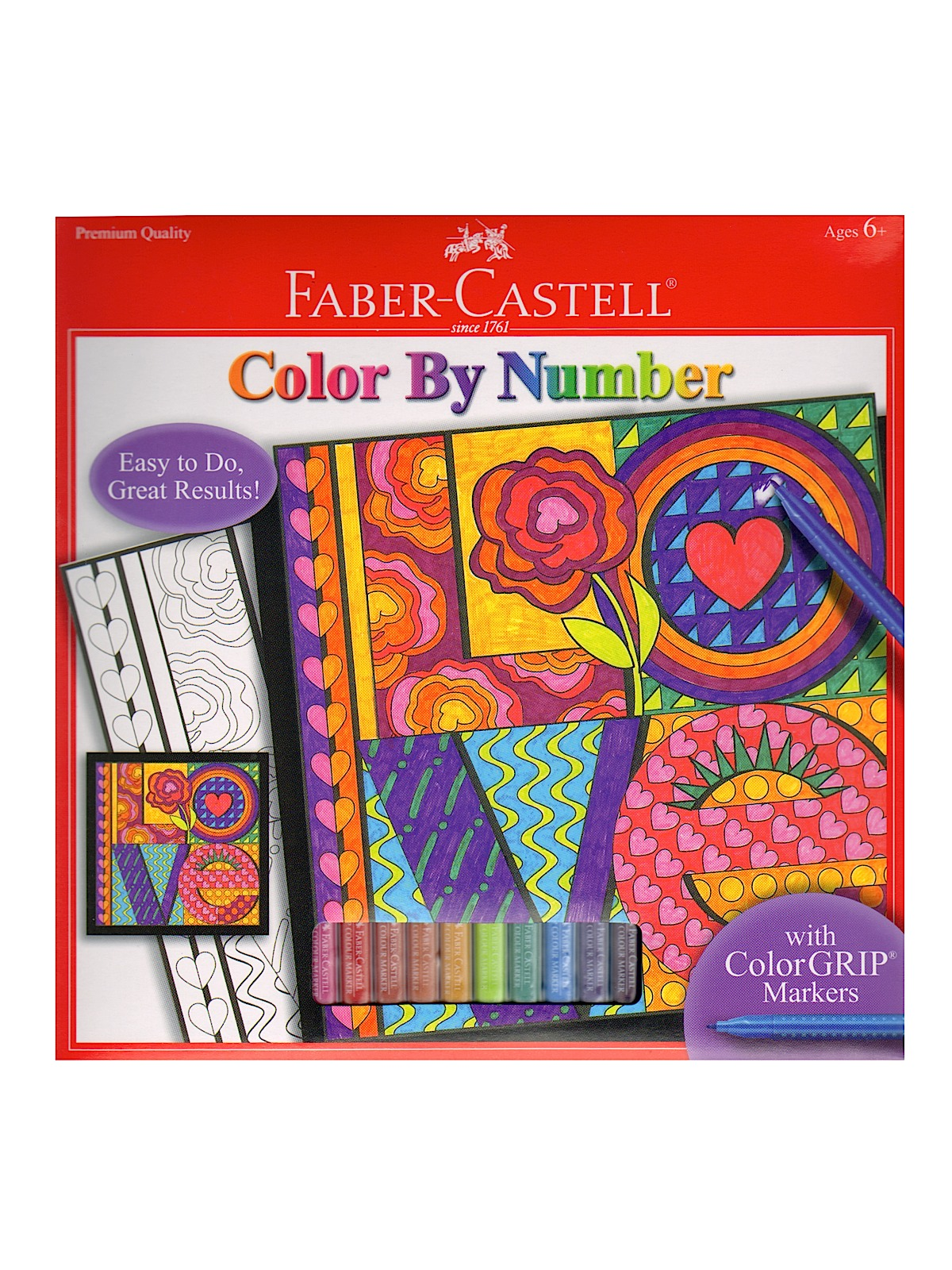 Color by Number with Markers Kits