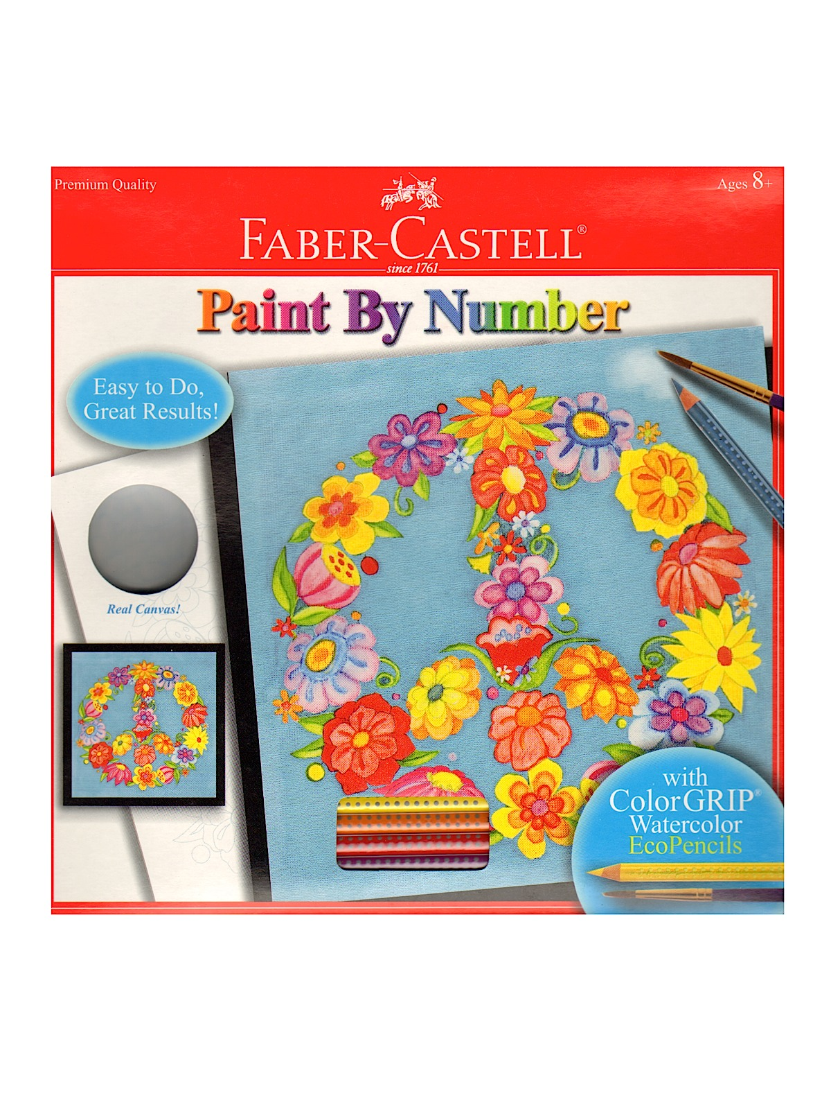 Faber Castell Paint By Number With Watercolor Pencils Kits