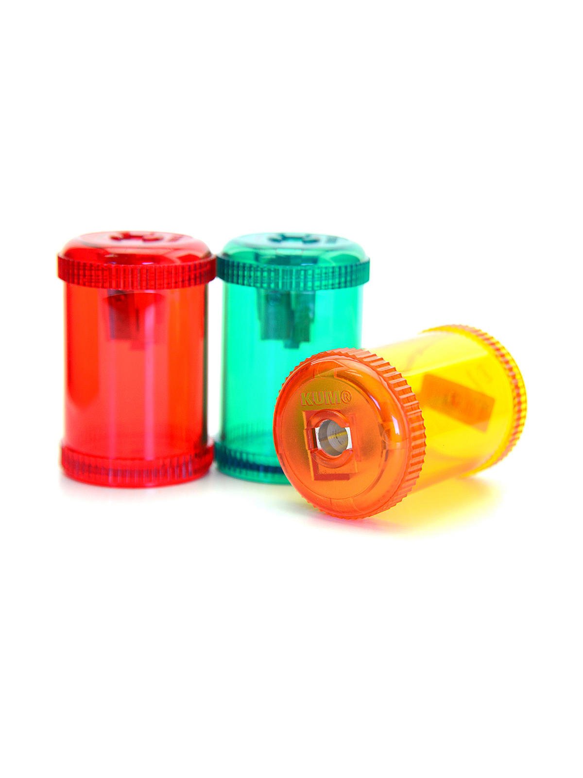 Barrel pencil sharpeners