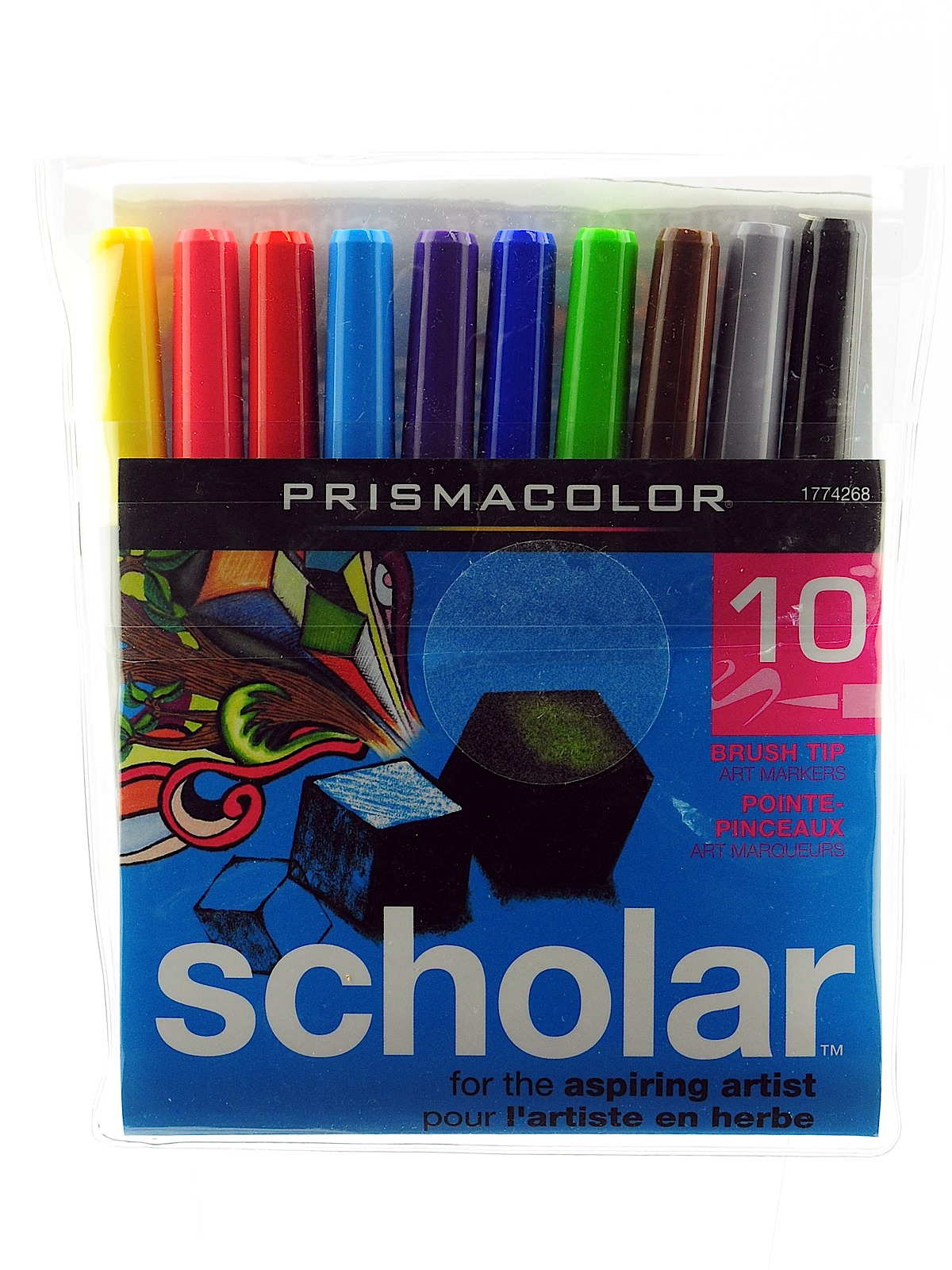 Brush Tip Scholar Markers