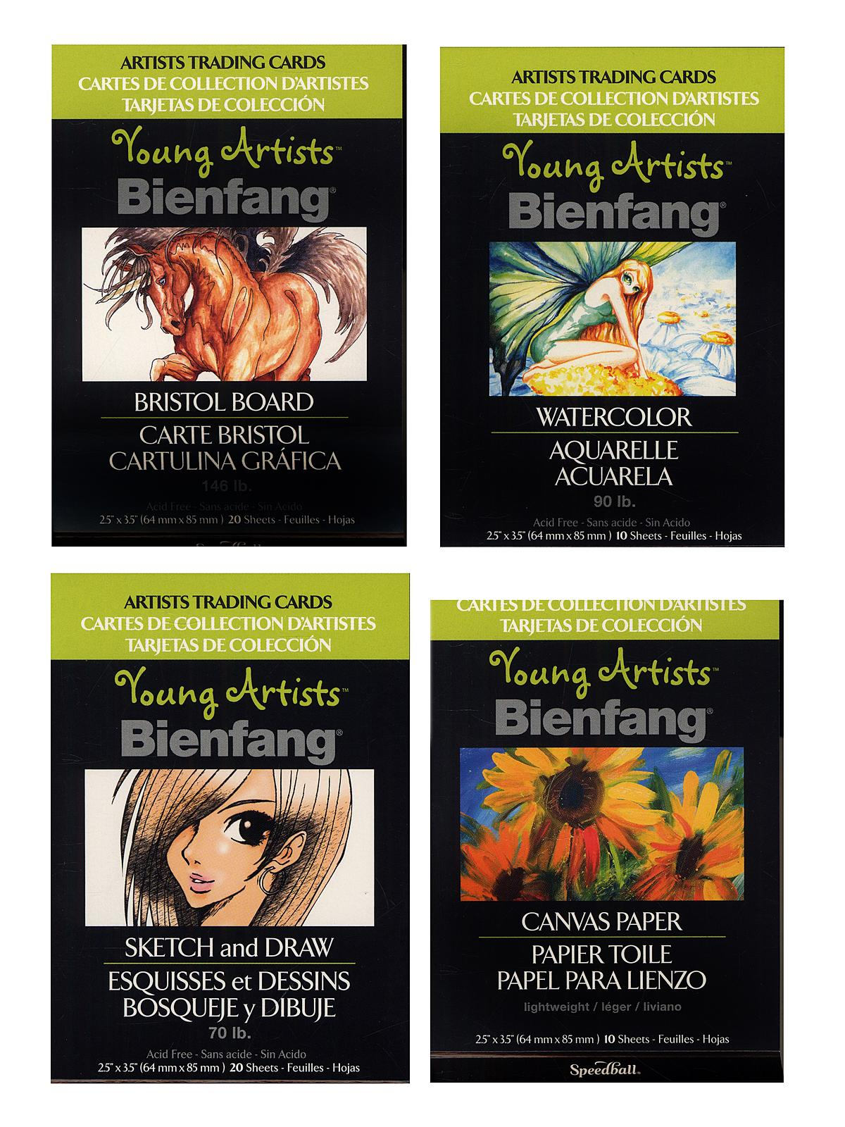 Bienfang Young Artists Trading Cards Misterart Com