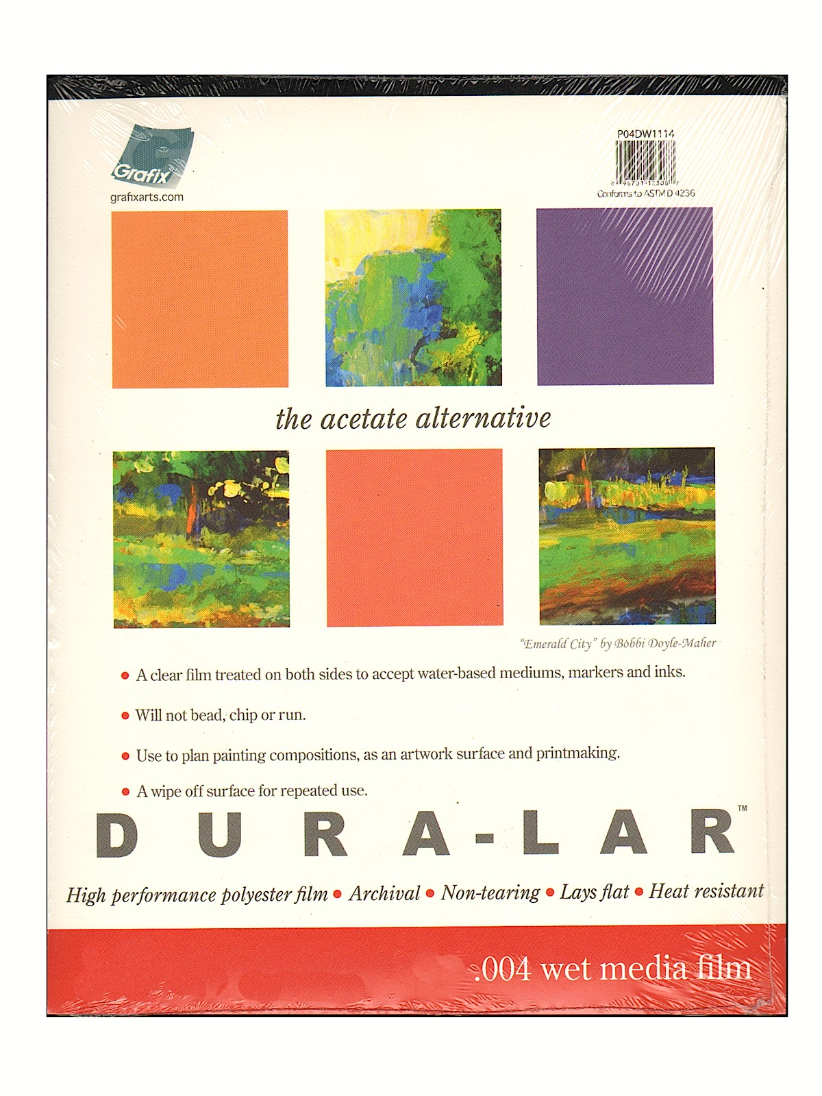 Dura-Lar Acetate Alternative Wet Media Pads