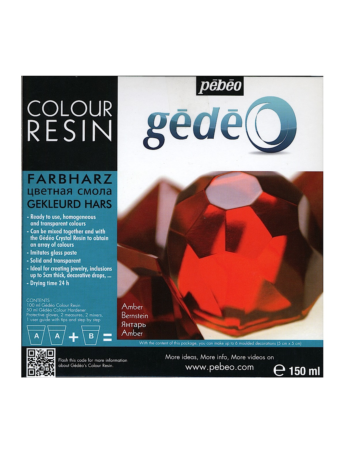 Gedeo Colour Resins