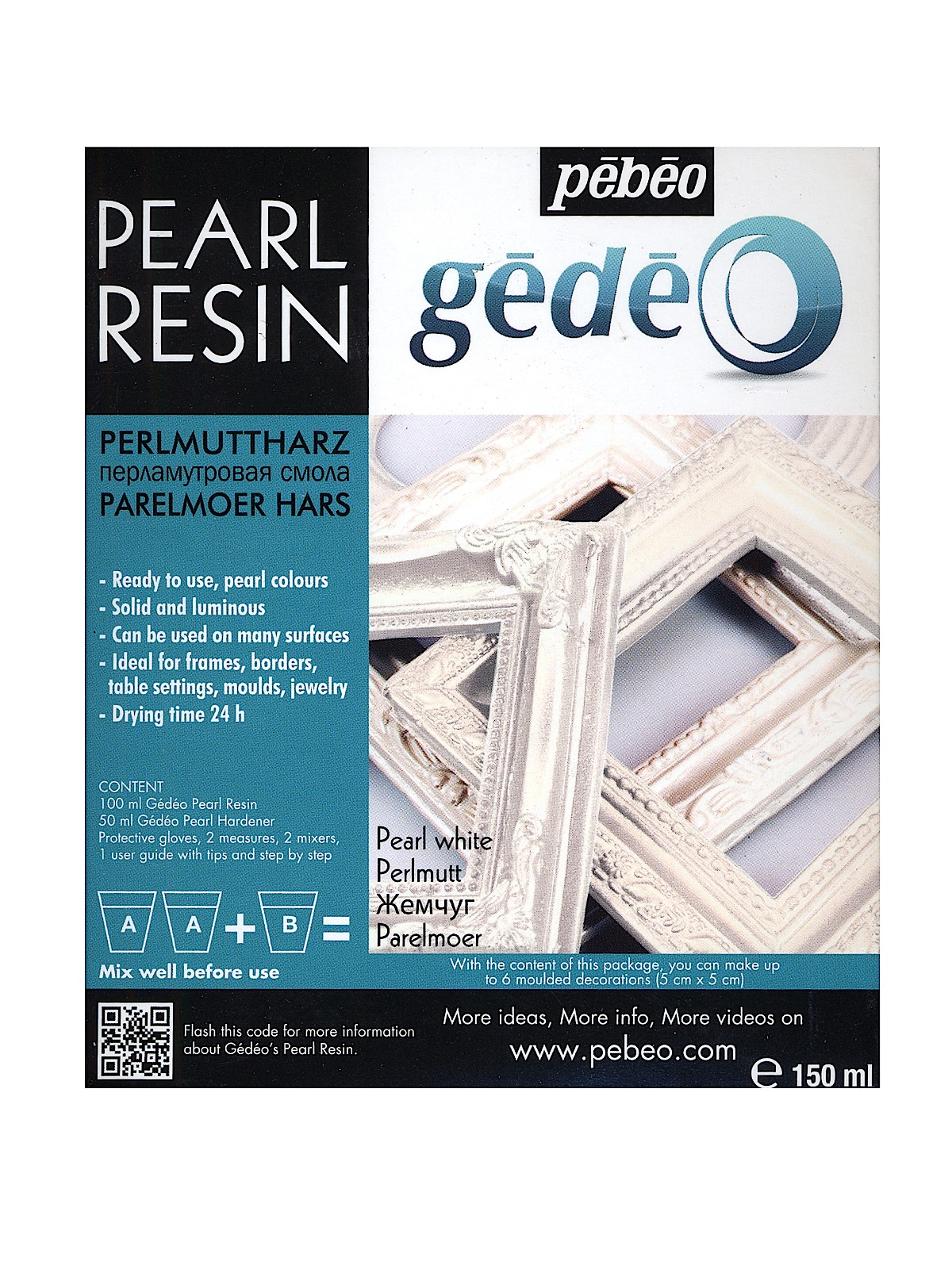 Gedeo Pearl Resins