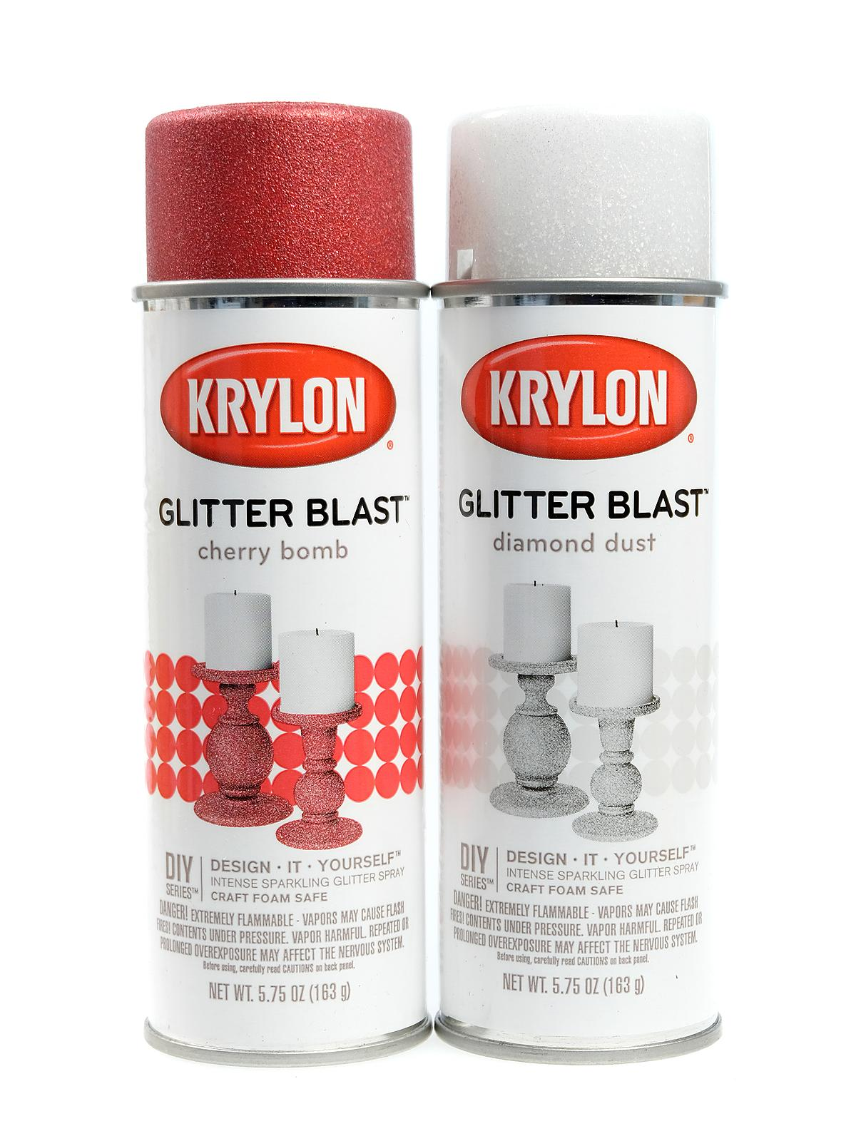 Krylon Glitter Blast Spray Paints Misterart Com