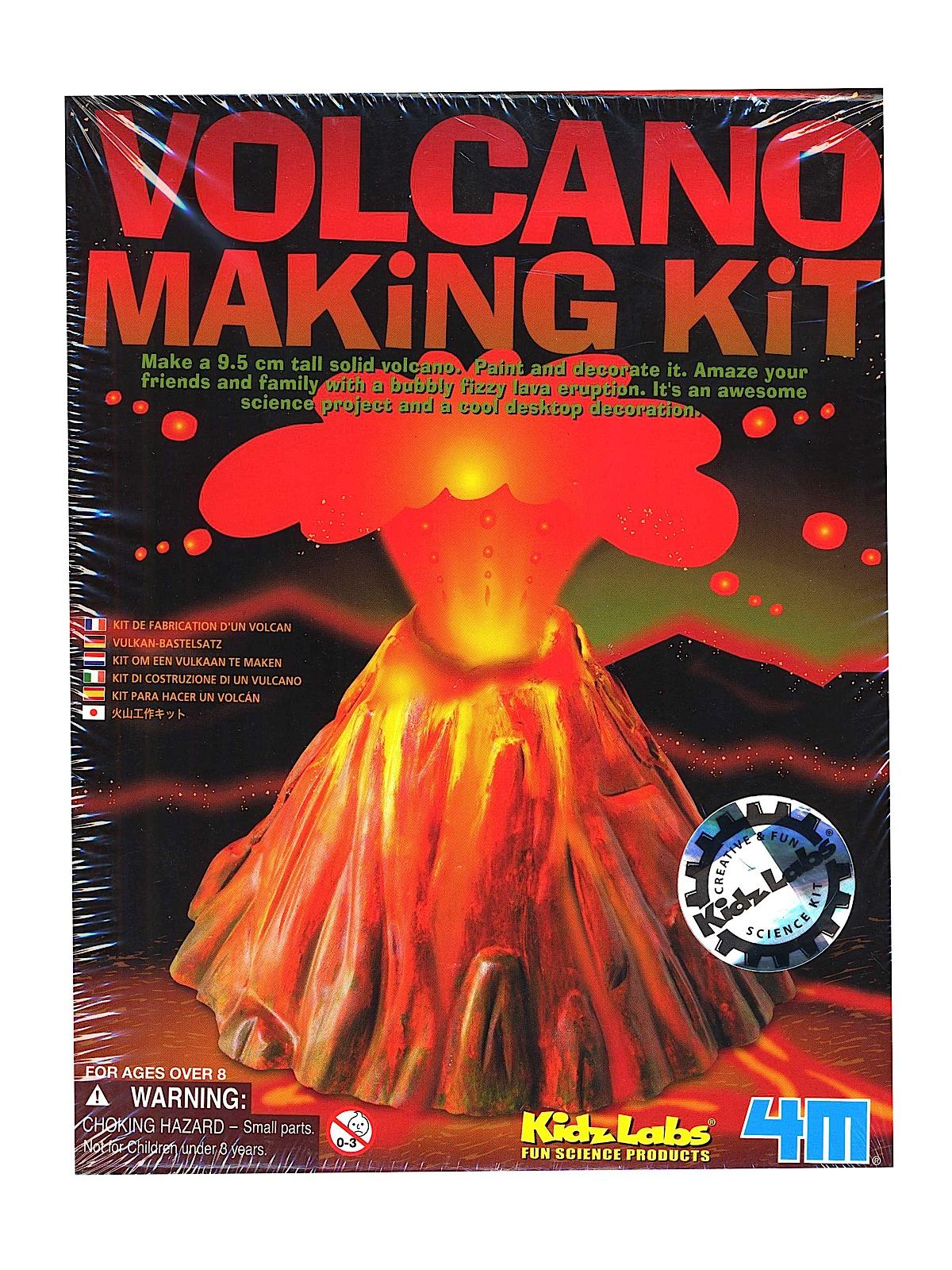 4m volcano making kit instructions