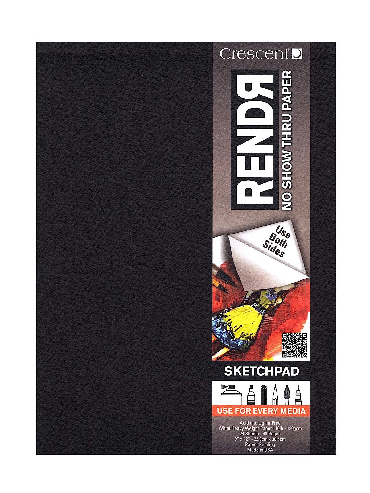 RendR No Show Thru Hardbound Sketchbook