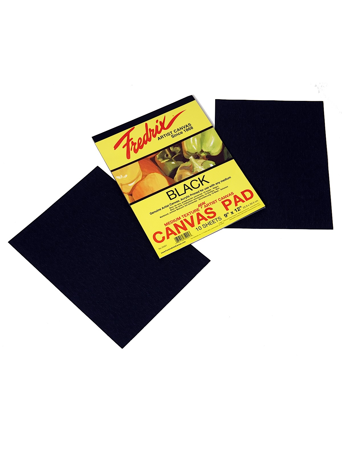 Black Canvas Pads