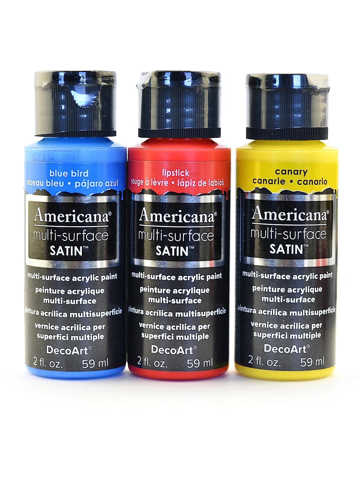 Americana Multi-Surface Satin Acrylics