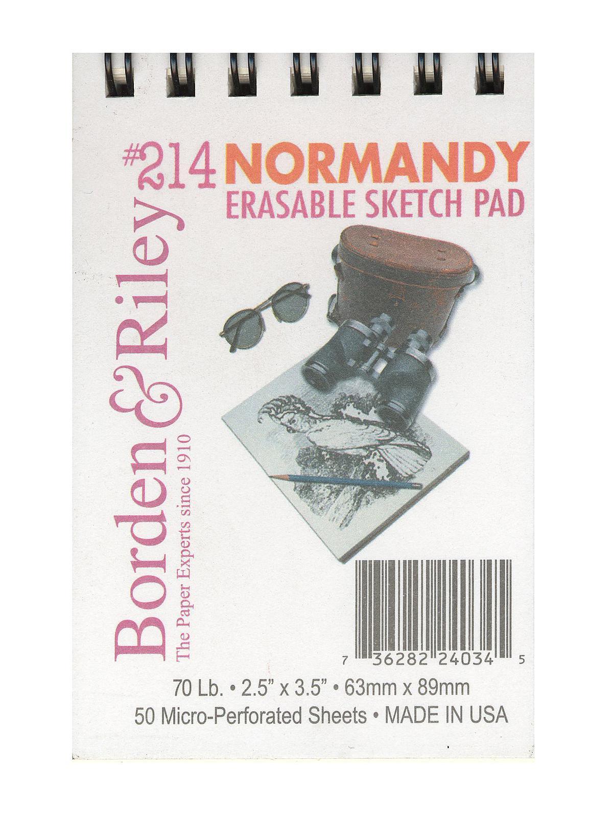 #214 Normandy Erasable Sketch Pad