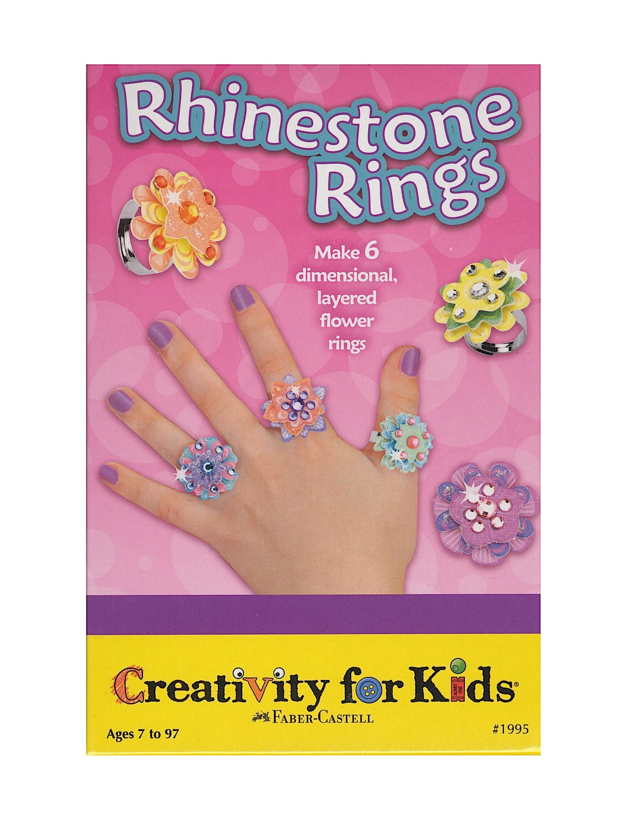Rhinestone Rings Mini Kit