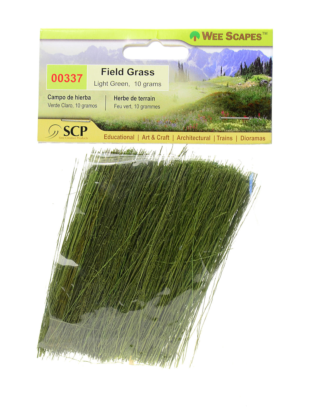 Architectural Model Field Grass