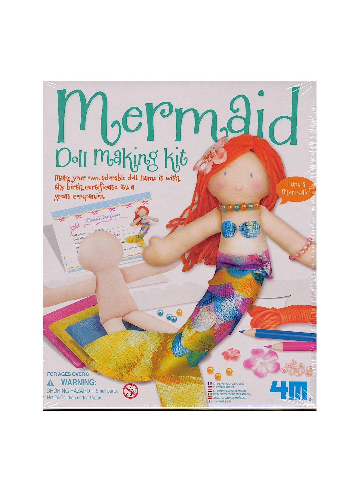 Mermaid Doll Making Kit