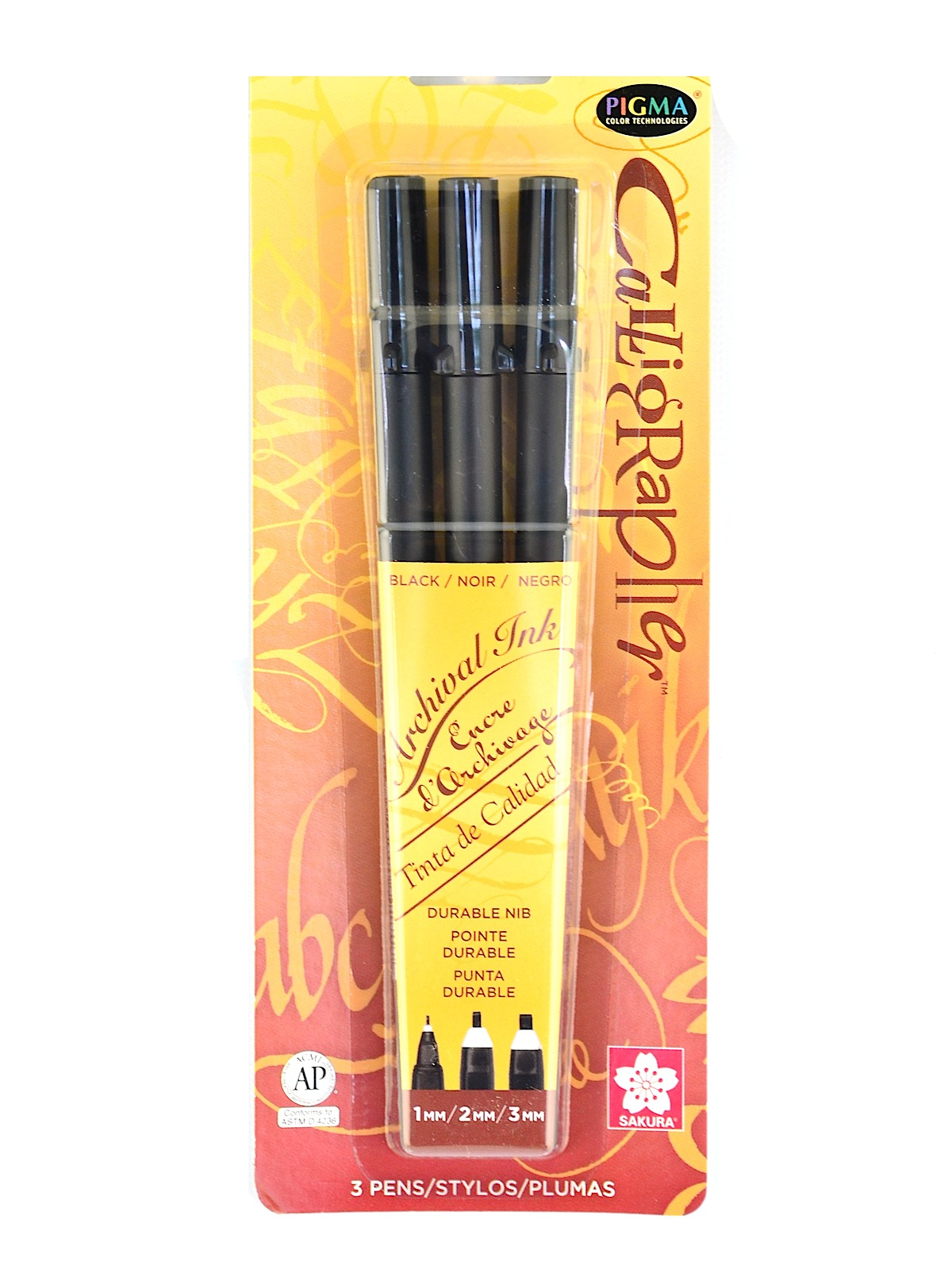Pigma Calligrapher Pens