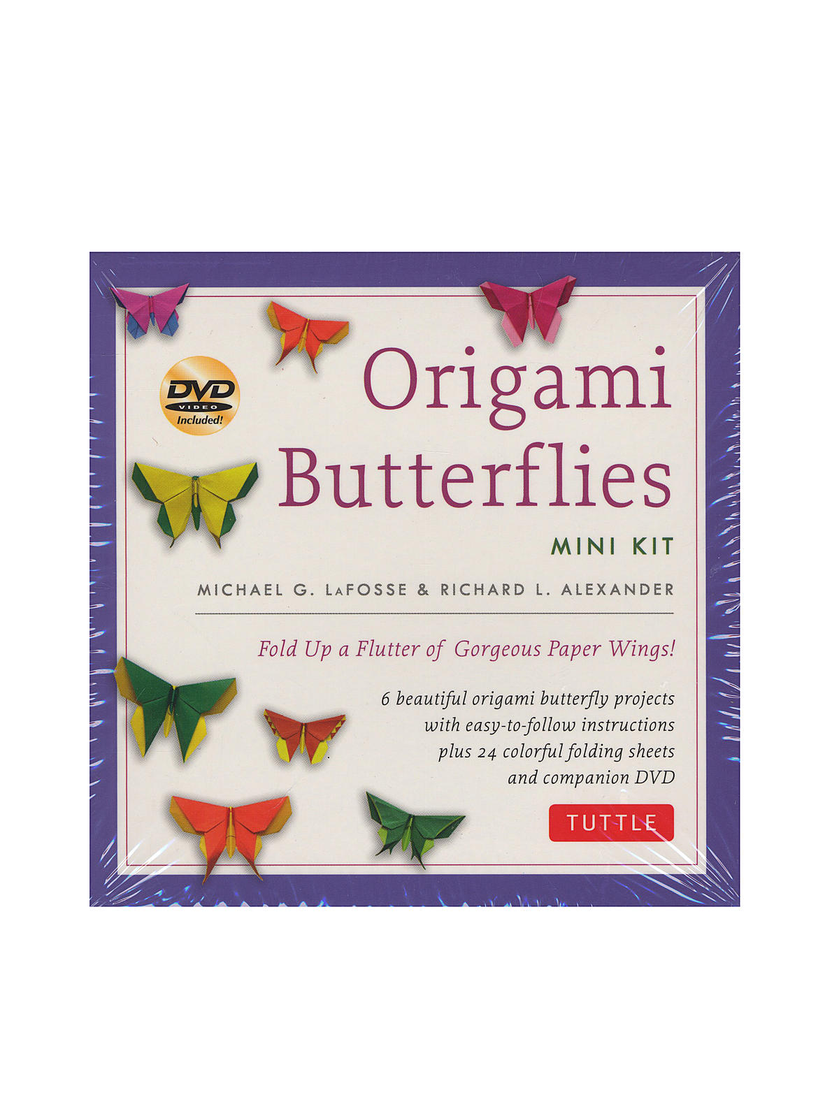 Origami Butterflies Mini Kit with DVD
