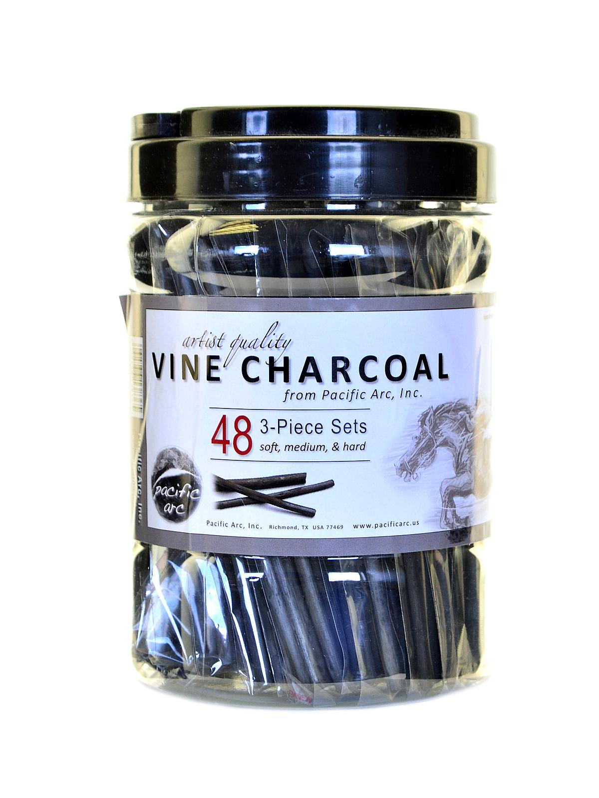 Vine Charcoal 3-Piece Sets
