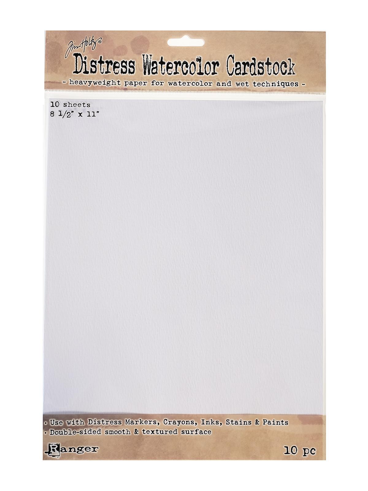 Ranger - Tim Holtz Distress Watercolor Cardstock