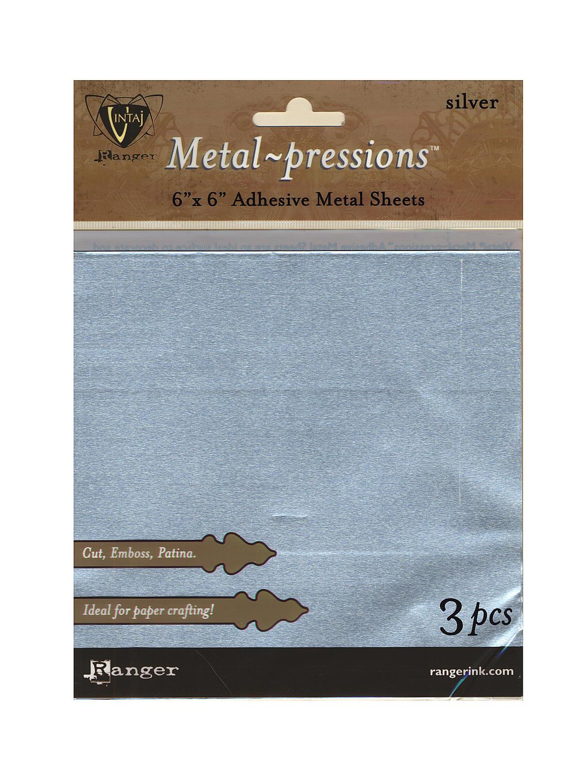 Vintaj Metal-pressions Metal Sheets