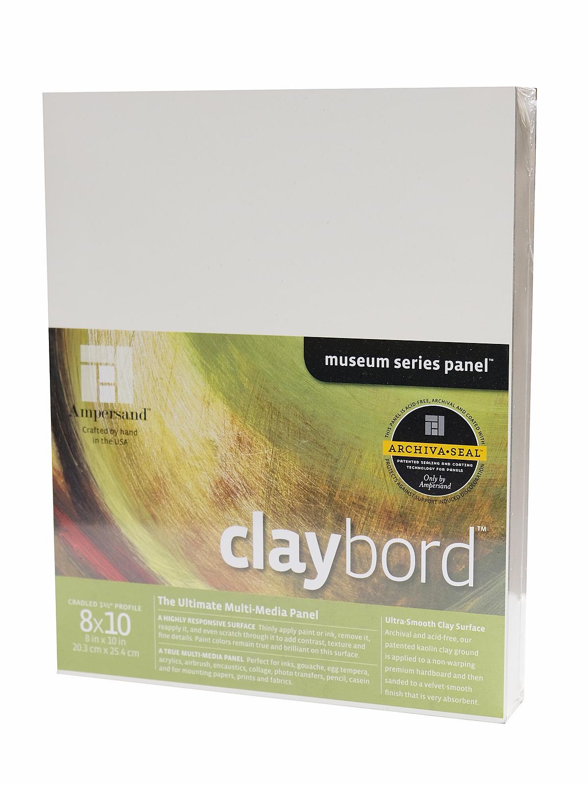 Cradled Claybord