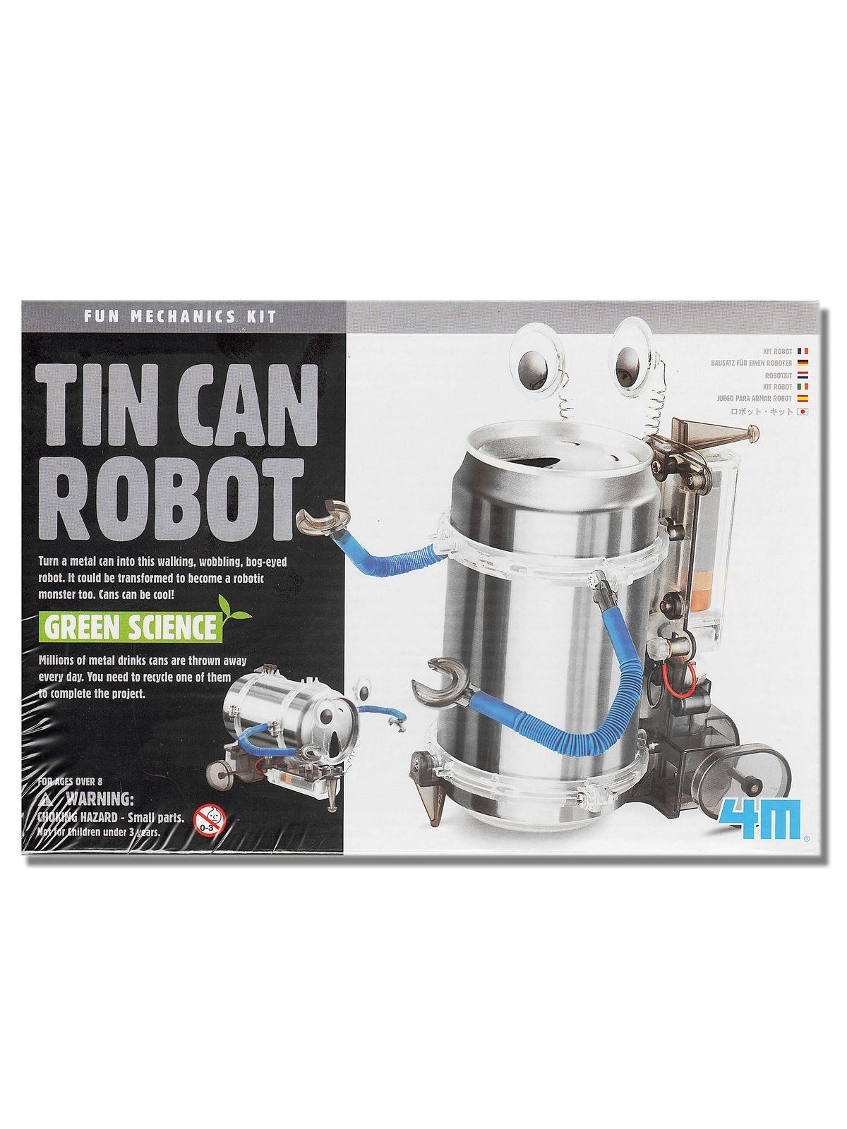 4M - Tin Can Robot Kit