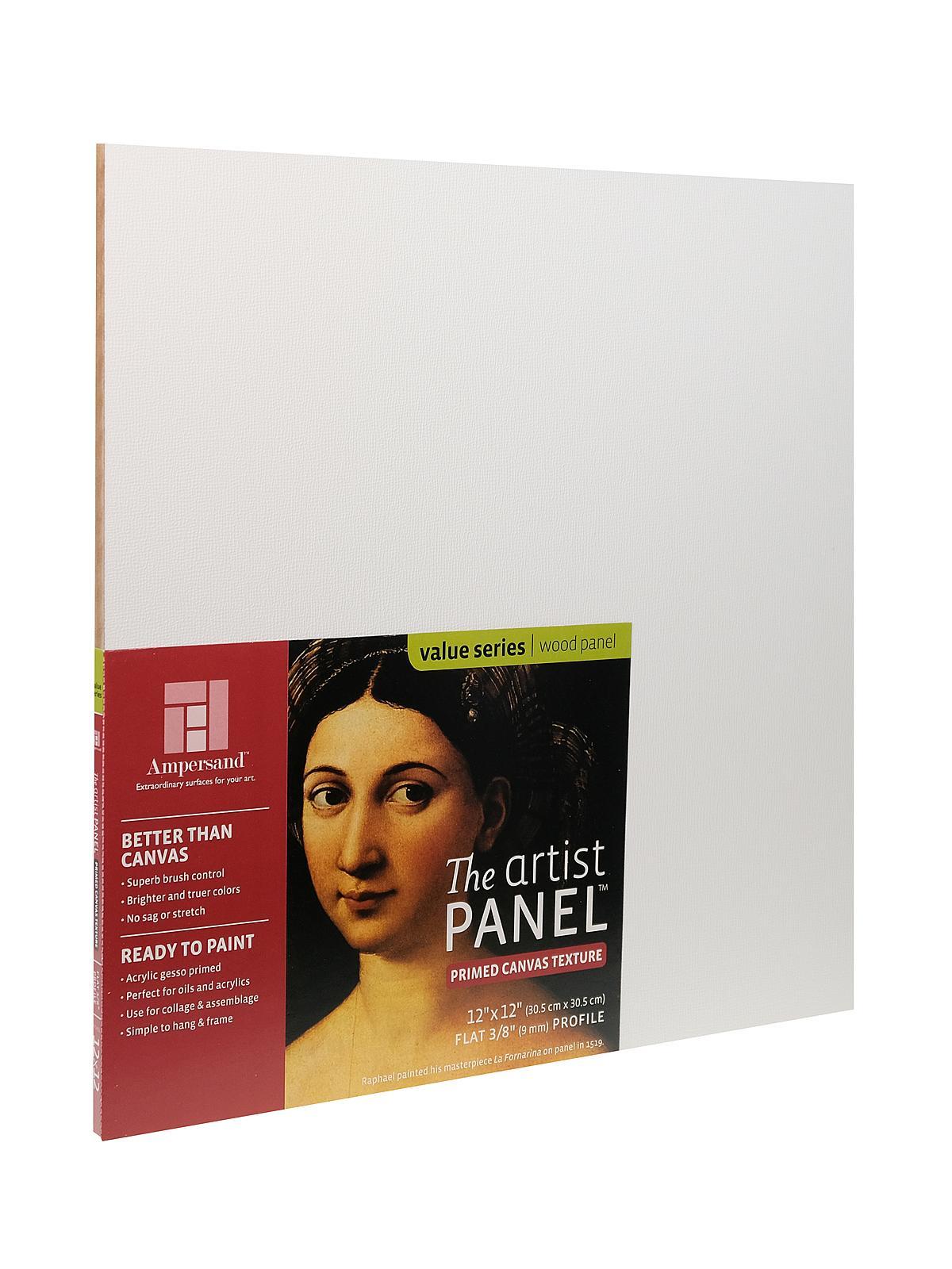 The Artist Panel Canvas Texture Flat Profile