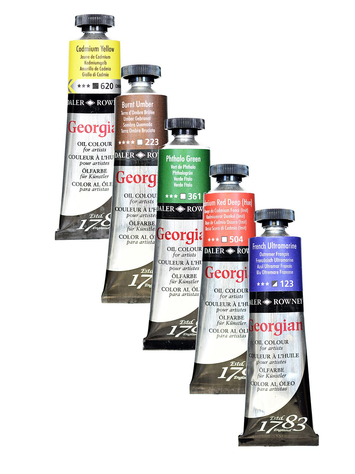 Daler-Rowney - Georgian Oil Colours