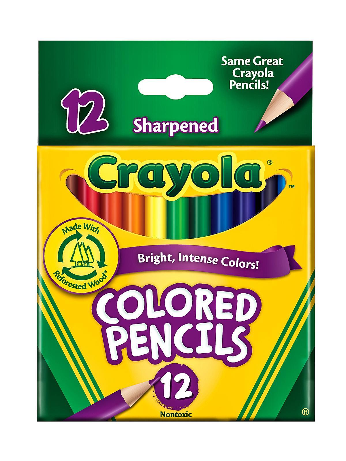 Short Colored Pencils