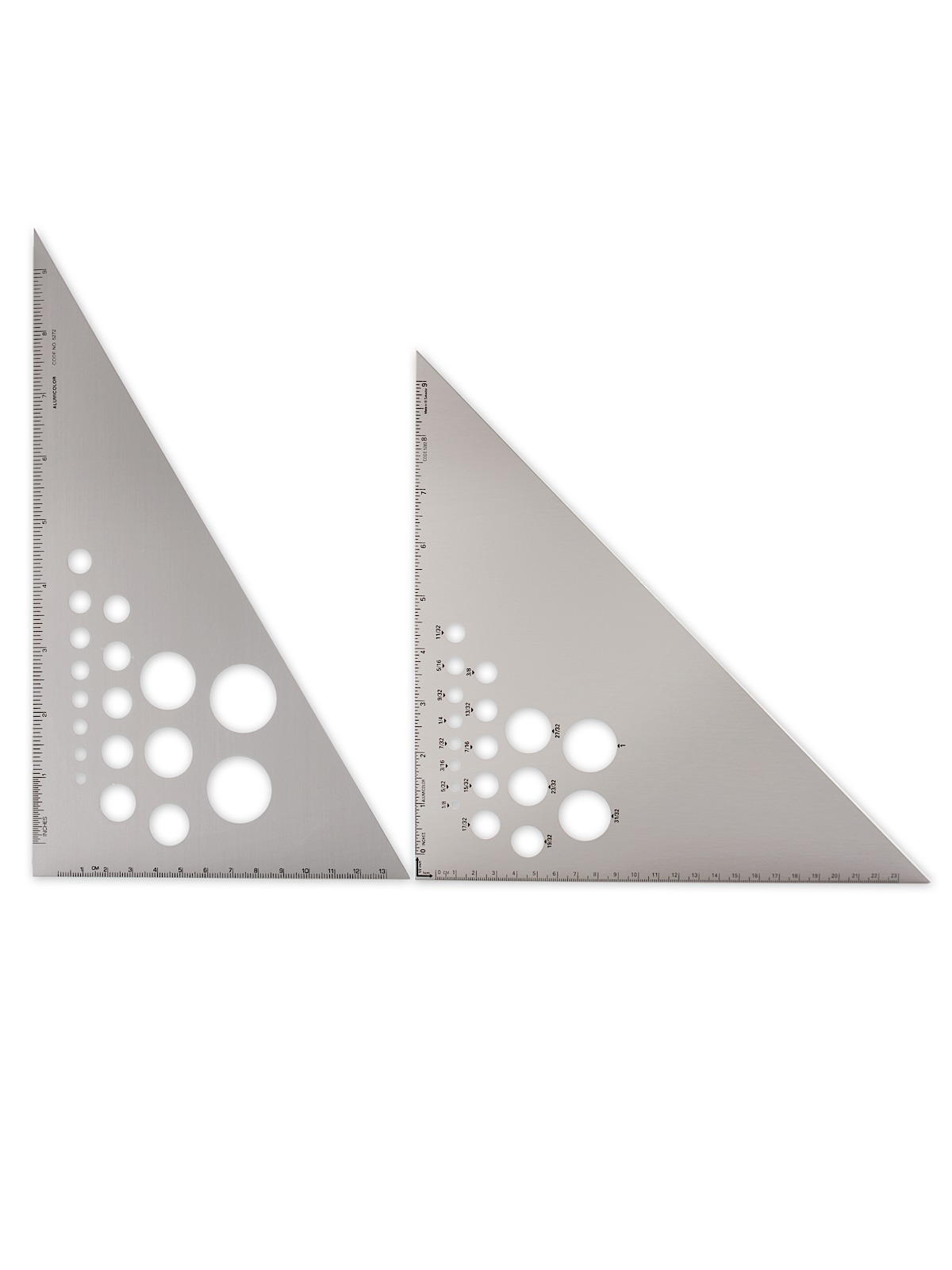 Aluminum Calibrated Triangles