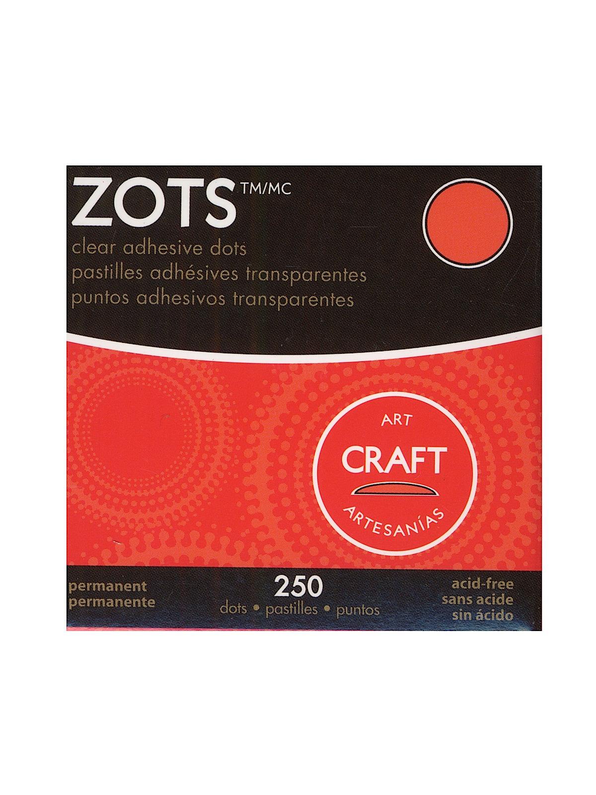 Zots Clear Adhesive Dots