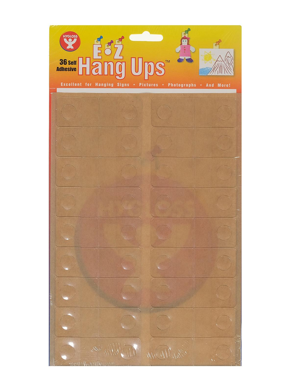 Self-Adhesive Hang-Ups