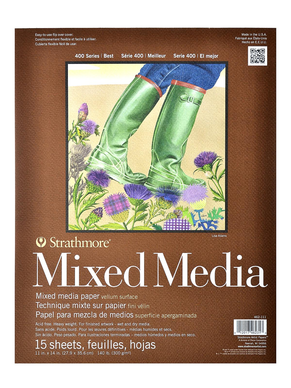 400 Series Mixed Media Pad