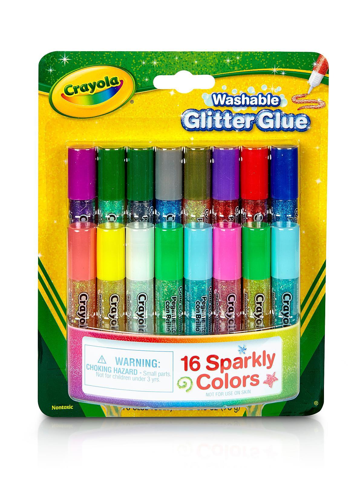 Pip Squeak Glitter Glue pack of 16