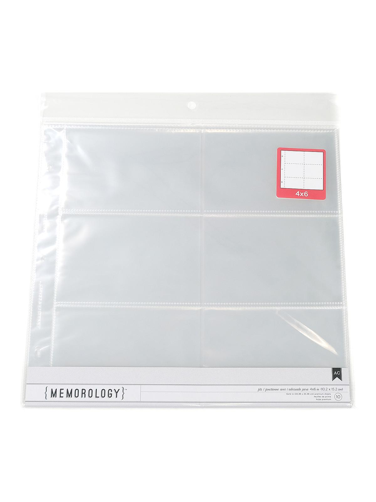 Page Protectors and Photo Protectors