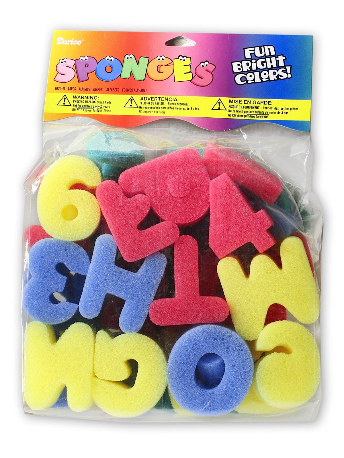 Creativity Street Sponge Letters
