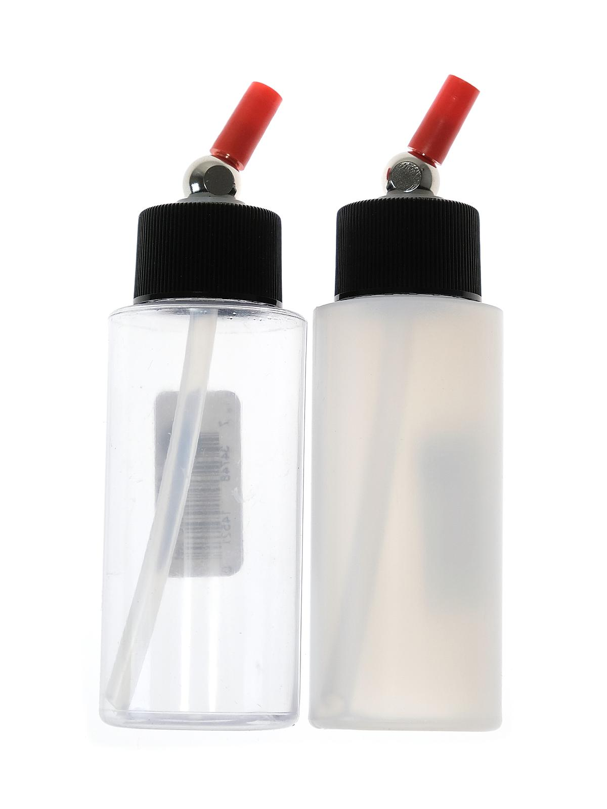 Clear Cylinder Bottles with Caps