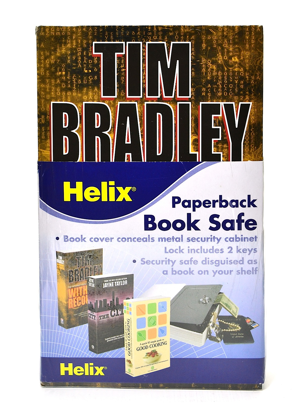 Homesafe Paperback Book Safe
