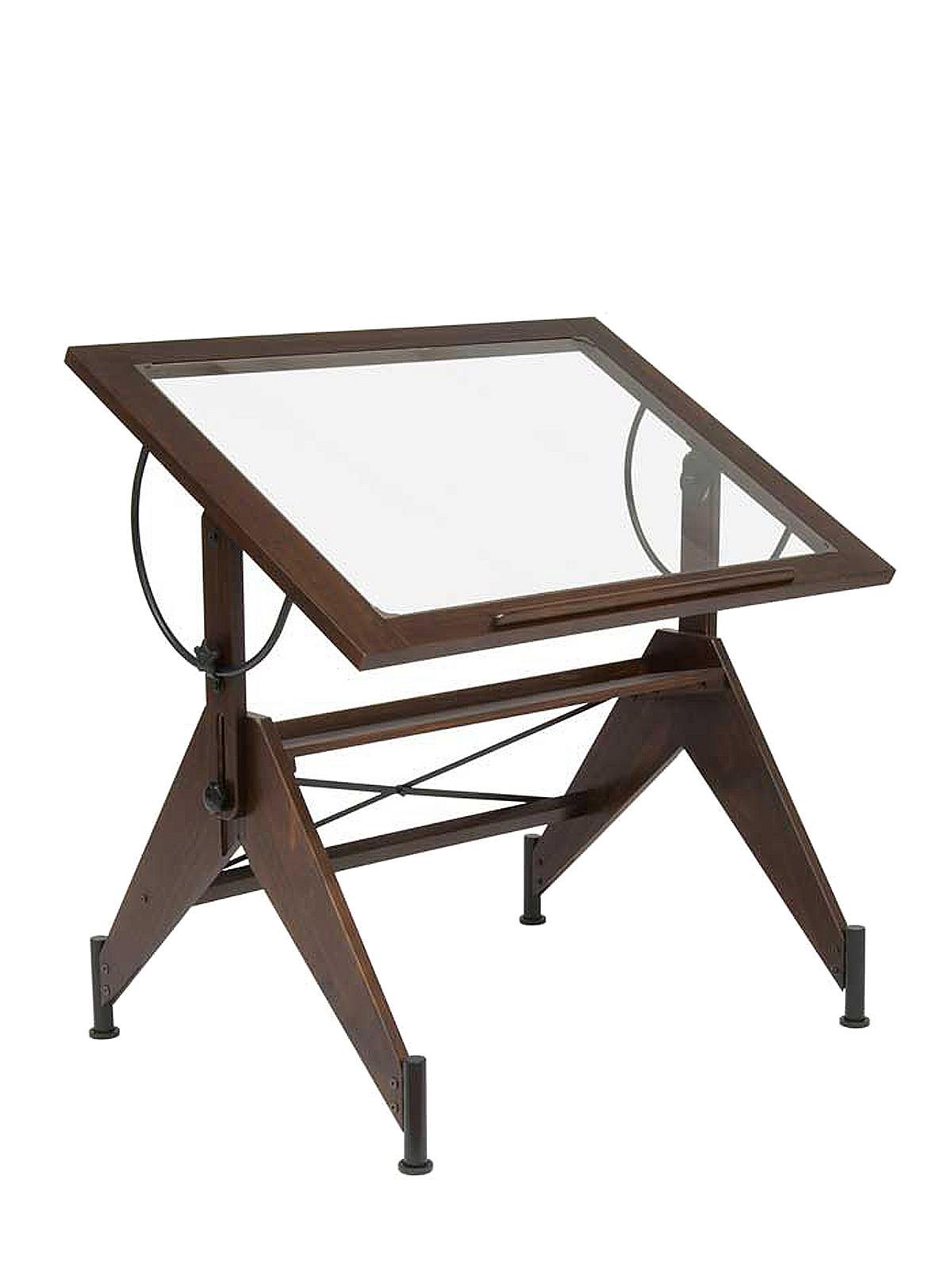 Drafting Table Glass Studio Designs Aries Top